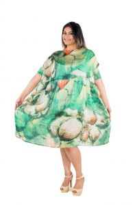 The Plum Tree Monet Fluid Dress Party & Casual Wear (code - Ptcd001)