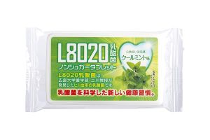 Doshisha L8020 Anti Bacteria Dental Care Tablets, Mint Flavor, 9gms (about 40 Tablets)