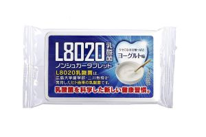 Doshisha L8020 Anti Bacteria Dental Care Tablets, Yogurt Flavor, 9gms (about 40 Tablets)