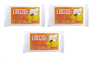 Doshisha L8020 Dental Care Tablets, Lemon Flavor, Pack Of 3 (d-l8020-l-3)