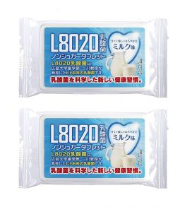 Doshisha L8020 Dental Care Tablets, Milk Flavor, Pack Of 2 (d-l8020-mil-2)