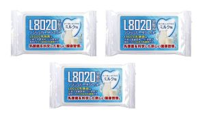 Doshisha L8020 Dental Care Tablets, Milk Flavor, Pack Of 3 (d-l8020-mil-3)