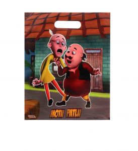 Motu Patlu Small Party Bag Combo-10 (pack Of 50 Pcs) By Sticker Bazaar