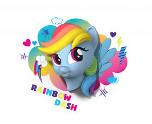 My Little Pony Rainbow Dash By 3d Light Fx(code -3dlf-40010)