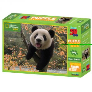 Nat Geo Kids Giant Panda 100pc Puzzle By Prime 3d (code - 10508 Nat Geo Kids Giant Panda 100pc Puzzle By Prime 3d (code - P3d-10508)