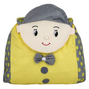 New Rackshak Boy School Bag - Yellow By Lovely Toys (code -nr01)