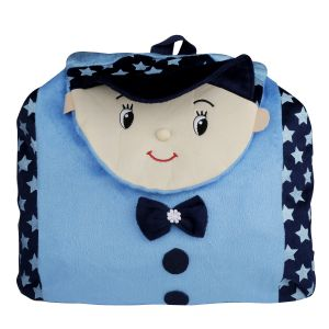 New Rackshak Boy School Bag - Blue By Lovely Toys (code -nr02)