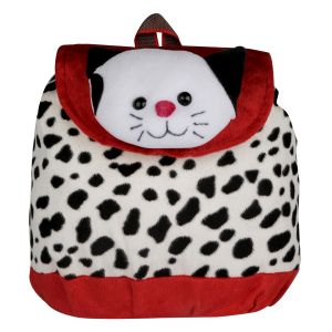 New Rackshak Cat School Bag - Red & White By Lovely Toys (code -nr10)