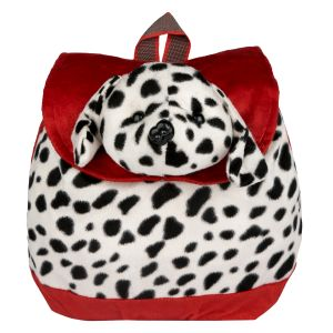 New Rackshak Dog School Bag - Red & Whit By Lovely Toys (code -nr04)