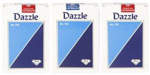 Parksons Cartamundi Plastic Coated Paper Playing Card (dazzle No. 792) For Fun / Game / Party - Pack Of 3 (code- P-dno-792-02)