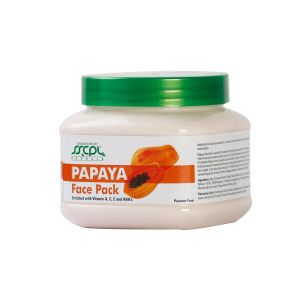 Sscpl Herbals Papaya Face Pack (150gm)( Code - Fp_papa_03 )