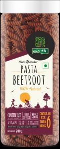 Beetroot Gluten Free Pasta 200g By Nutrahi (code - Pbr004)