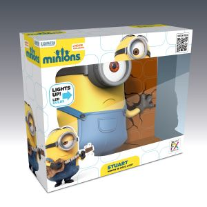 Minion Stuart 3d Deco Light By 3d Light Fx(code -3dlf-70006)