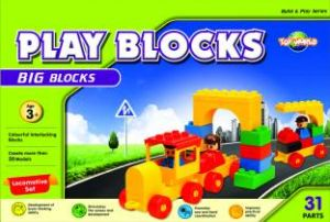 Play Blocks Locomotive Set