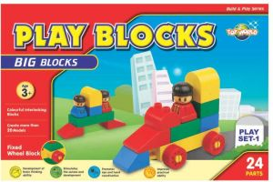 Play Blocks Number Train Set