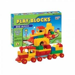 Play Blocks Junior Train Set