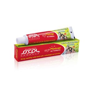 Sscpl Herbals Plumage Gel Toothpaste - Pack Of 2 (each 150 Gm)( Code - Toothpaste_150 )
