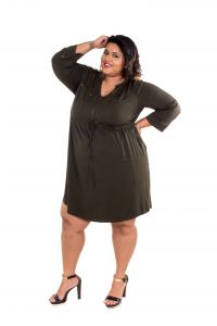 The Plum Tree Olive It Up Dress Office, Party & Casual Wear (code - Ptcd005)