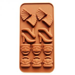 Silicone Chocolate Mould Purse-sandle By Okayji (code - Scmold010)