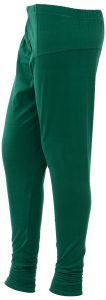 Kaym - 100% Cotton Leggings - Forest Green (code - Kym-fg-01)