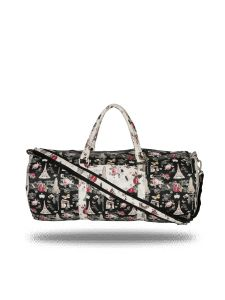 Paris Print Duffel Bag By Strutt (code -smd157)