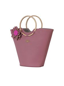 Pink Ring Handbag By Strutt (code -smh138)
