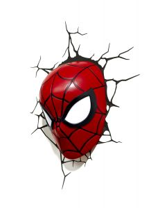 Spider-man Mask By 3d Light Fx(code -3dlf-20006)