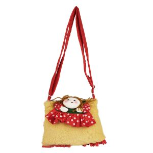 Sweety Sling Bag - Red & Brown By Lovely Toys (code -sb03)