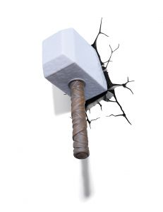 Thor Hammer By 3d Light Fx(code -3dlf-20005)