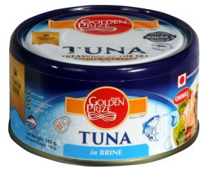 Golden Prize Tuna Chunk In Brine 185gms (code - 8852111021298)