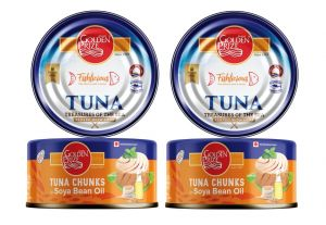 Golden Prize Tuna Chunk In Soyabean Oil 185 Gms Each - Pack Of 2 Units (code - 8852111021281-1)