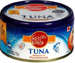 Golden Prize Tuna Spread In Mayonnaise 185gms Each - Pack Of 2 Units (code - 8855301210298-1)