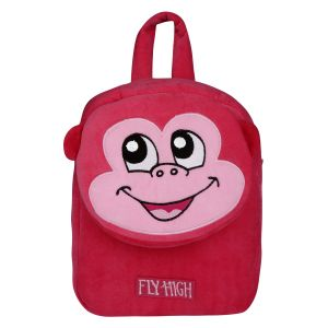 Velboa School Bag - Dark Pink By Lovely Toys (code -vb08)