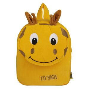 Velboa School Bag - Dark Yellow 1 By Lovely Toys (code -vb02)