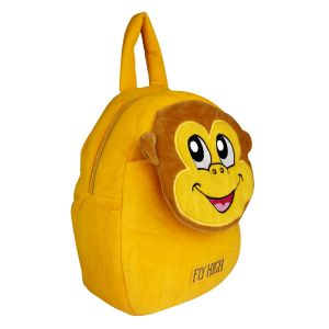 Velboa School Bag - Golden Yellow By Lovely Toys (code -vb09)