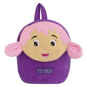 Velboa School Bag - Purple By Lovely Toys(code -vspb08)