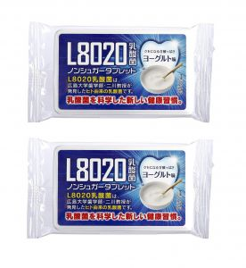 Doshisha L8020 Dental Care Tablets, Yogurt Flavor, Pack Of 2 (d-l8020-y-2)