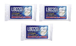 Doshisha L8020 Dental Care Tablets, Yogurt Flavor, Pack Of 3 (d-l8020-y-3)