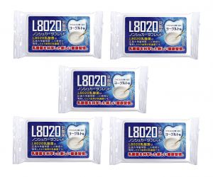 Doshisha L8020 Dental Care Tablets, Yogurt Flavor, Pack Of 5 (d-l8020-y-5)