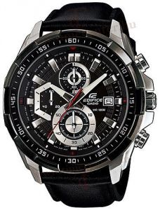 Men's Watches - Casio Edifice 539 Efl New Arrival With Leather Strap