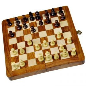Designer Wooden Chess Board Handicraft Gift -115