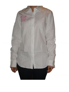 Nick&jess Ladies White Casual Shirt Gsfs018cwht