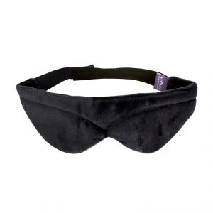 Viaggi Memory Foam Blindfold Sleeping Eye Mask - Grey