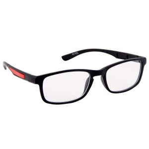 Petrol Red Wayfarer Sunglasses(clear)