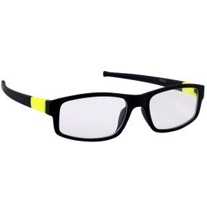 Petrol Yellow Wayfarer Sunglasses(clear)