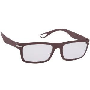 Petrol Brown Wayfarer Sunglasses(clear)