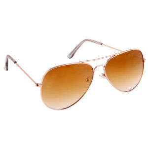 Nectar Golden Aviator Sunglasses For Men