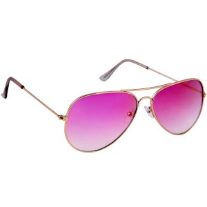 Nectar Pink Aviator Sunglasses For Men