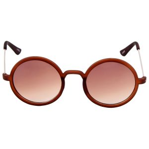 Nectar Brown Round Sunglasses For Men