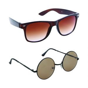 Nectar Wayfarer Round Sunglasses For Men